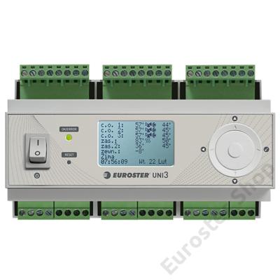 EUROSTER UNI3 fűtésrendszer vezérlő